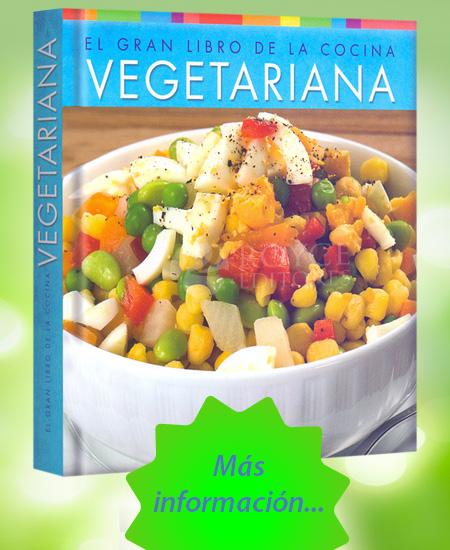El gran libro de la cocina vegetariana m s libros tu for Blogs cocina vegetariana