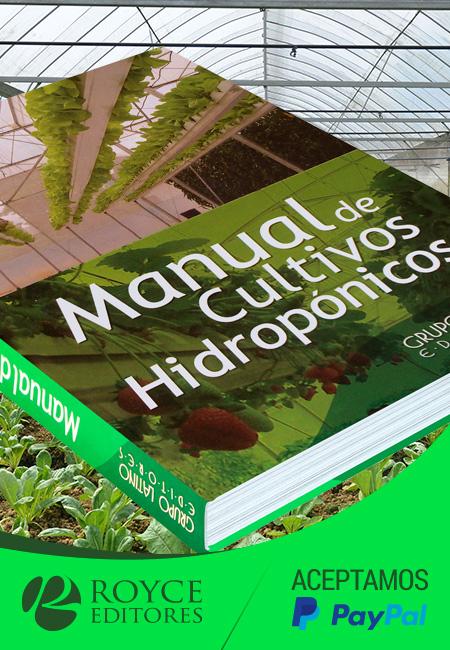 manual de cultivos hidropnicos con dvd y un cdrom