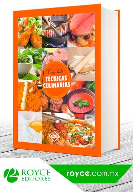 Manual de t cnicas culinarias m s libros tu tienda online for Manual tecnicas culinarias